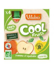 COOL FRUITS MANZANA 4UD BIO