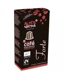 Cápsulas Biodegradables de Café Forte de Alternativa3 10 Uds Bio