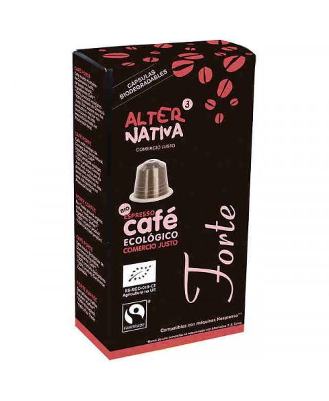 CAPSULAS CAFE FORTE ALTERNATIVA3 10UD BIO