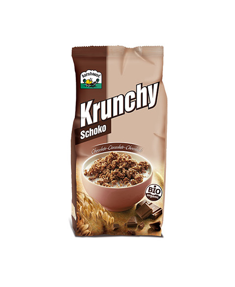Muesli Krunchy Choco BarnHouse 375 Gr Bio