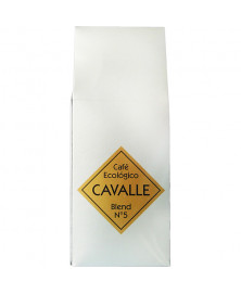 CAFE NATURAL MOLIDO CAVALLÉ 250GR BIO
