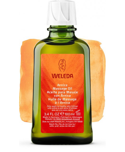 Aceite para Masaje de Weleda con Árnica Bio