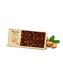 TURRÓN CHOCOLATE ALMENDRA CHOCOLATES SOLE 200 GR BIO