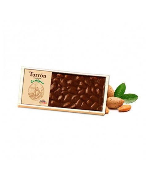 TURRÓN CHOCOLATE ALMENDRA CHOCOLATES SOLE 200 GR BIO