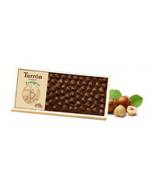 TURRÓN CHOCOLATE AVELLANA CHOCOLATES SOLE 200 GR BIO