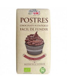 TABLETA CHOCOLATE PARA POSTRES 200GR BIO