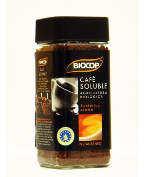 CAFE SOLUBLE INSTANTANEO 100GR BIO