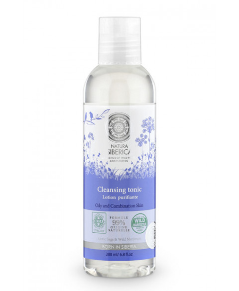 Tónico limpiado piel grasa o mixta Natura Siberica 200 ml