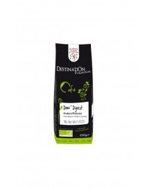 CAFE DESCAFEINADO SUAVE 100% ARABICA 250GR BIO, DESTINATION