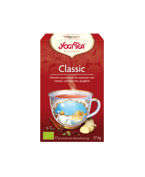 YOGI TEA CLASSIC 17UD BIO