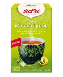 YOGI TEA TEA VERDE MATCHA LIMON 17UD BIO