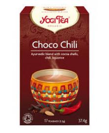 YOGI TEA CHOCO CHILI 17UD BIO