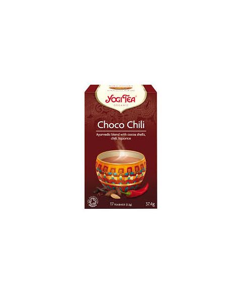 Yogi Tea Choco Chili 17 ud Bio