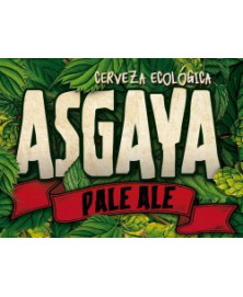CERVEZA ASGAYA INDIAN PALE ALE 33CL BIO