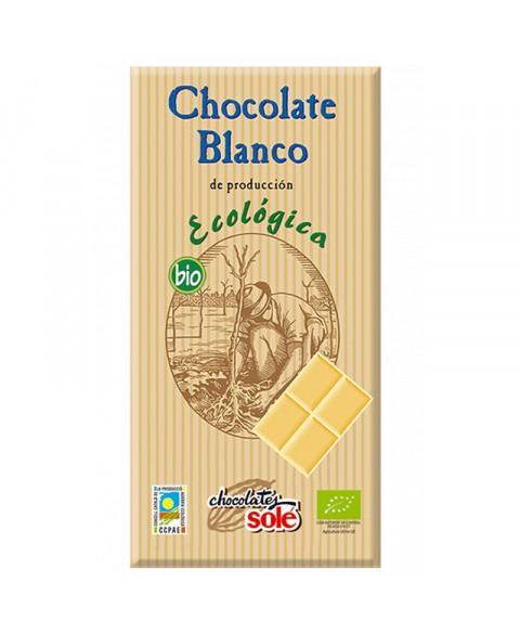 CHOCOLATE BLANCO 100GR BIO