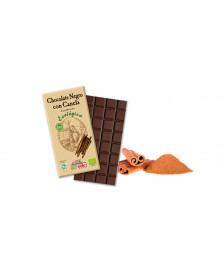 CHOCOLATE NEGRO 56% CANELA 100GR BIO