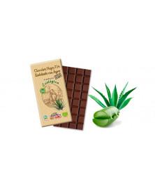 CHOCOLATE NEGRO CON AGAVE 100GR BIO