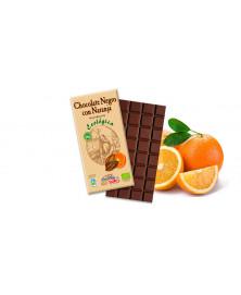 CHOCOLATE NEGRO CON NARANJA 100GR BIO