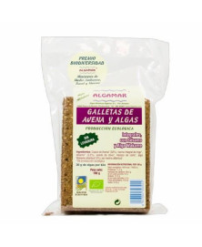 GALLETAS AVENA Y ALGAS 190GR BIO