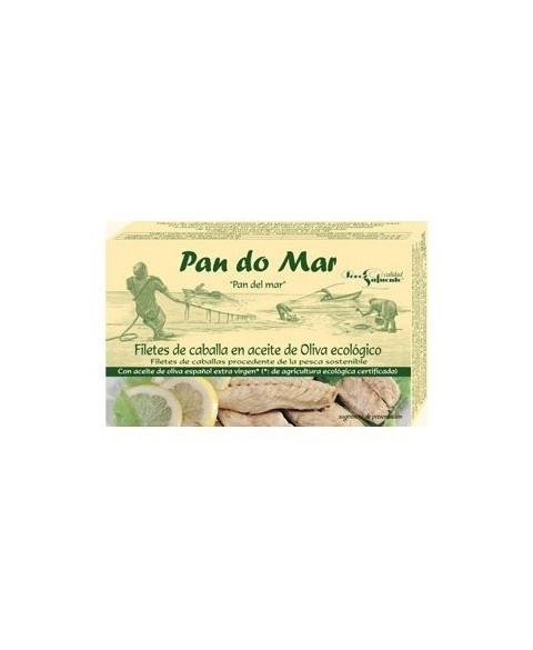 FILETES CABALLA PAN DO MAR 120 GR BIO