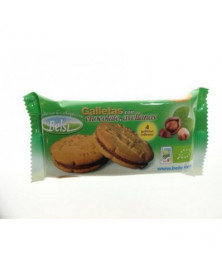 Galletas chocolate y avellana Belsi 60 Gr Bio