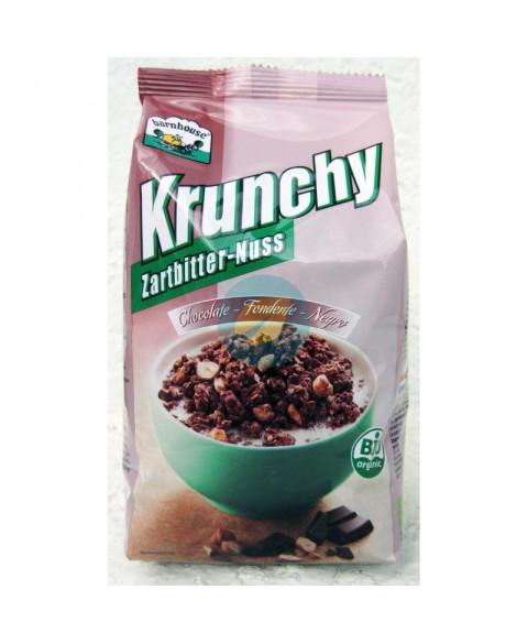 Muesli Krunchy Chocolate Negro Avellanas BarnHouse 375 Gr Bio