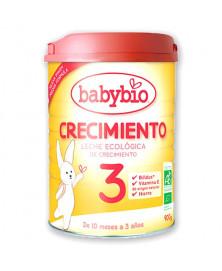 LECHE CRECIMIENTO 3 BABYBIO 900GR BIO