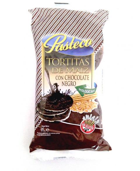 TORTITAS MAIZ CHOCO NEGRO 95GR BIO