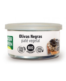 PATE OLIVAS NEGRAS 125 GR BIO