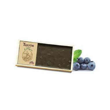 TURRÓN CHOCOLATE ARANDANOS 200GR BIO