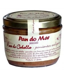 PATE CABALLA PIMIENTO PAN DO MAR 125 GR BIO