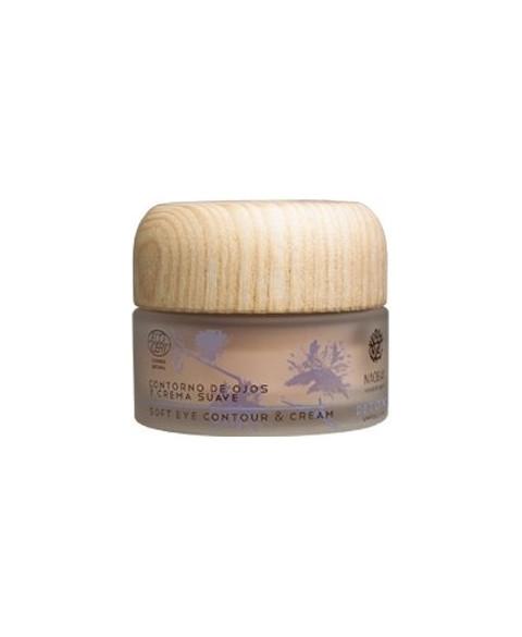 Contorno de Ojos y Crema Suave de Naobay 30 ml Bio