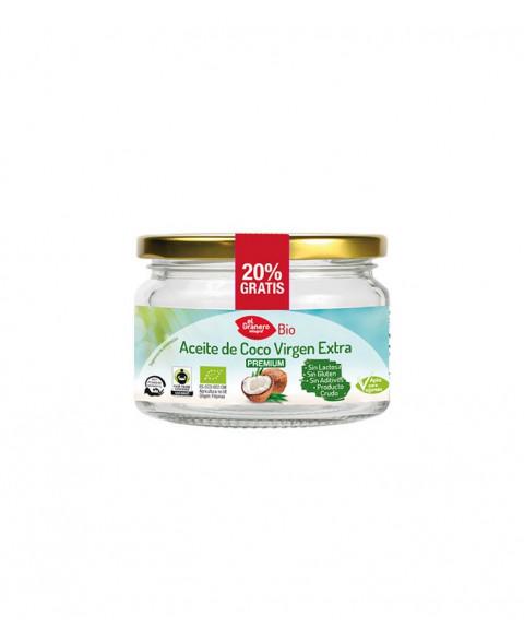 Aceite de Coco Virgen Extra 250 gr Bio