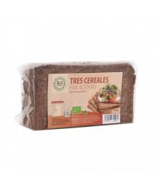 Pan Alemán de Centeno y 3 cereales Son Nautral 500 gr Bio