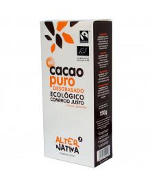 CACAO PURO DESGRASADO ALTERNATIVA3 150GR BIO