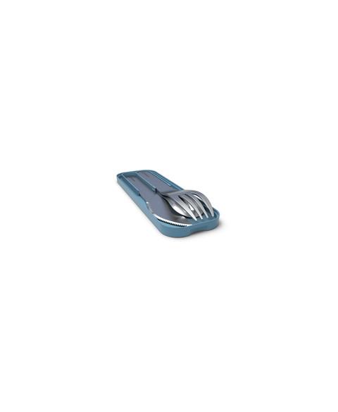 Cubiertos Acero Inoxidable Azul, Monbento