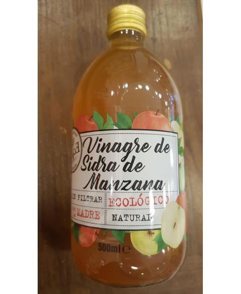 Vinagre sidra de manzana sin filtrar 500 ml Bio