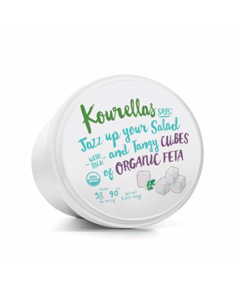 Queso Feta en cubitos Kourellas 150 gr Bio