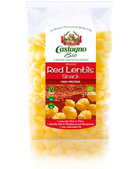 Snack de Lentejas Rojas Castagno 5. gr Bio
