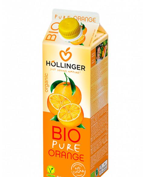 Zumo de naranja Hollinger 1 litro Bio