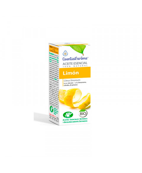 Aceite esencial de limón Esential Aroms 10 ml Bio