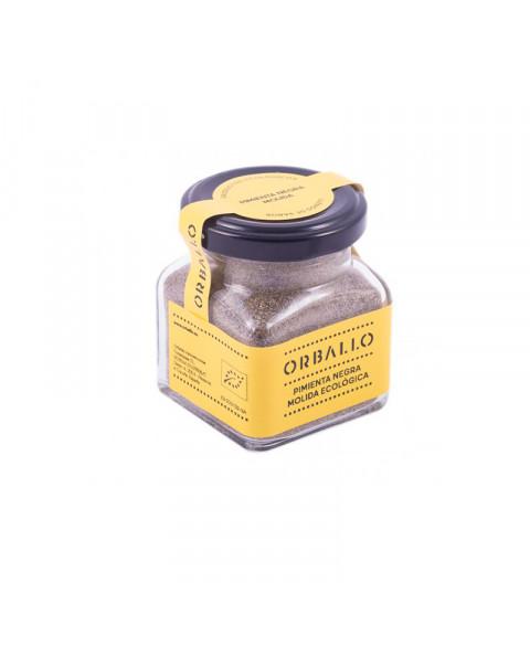 Pimienta negra molida 75 gr Bio Orballo