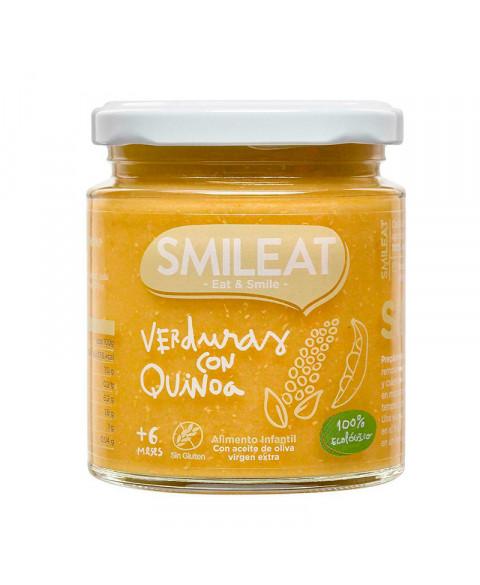Potito de verduras con quinoa Smileat 230 gr Bio