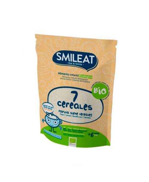 Papilla 7 cereales Smileat 20 gr Bio