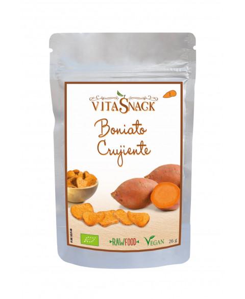 Boniato crujiente Vitasnack 26 gr Bio
