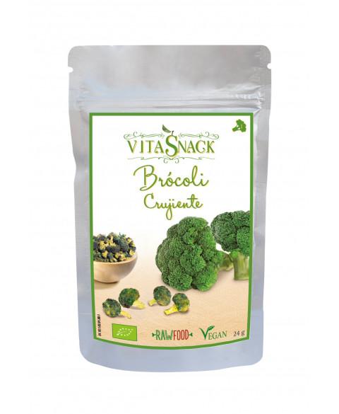 Brocoli crujiente Vitasnack 24 gr Bio