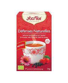 YOGI TEA DEFENSAS NATURALES 17 UD X 2 GR BIO