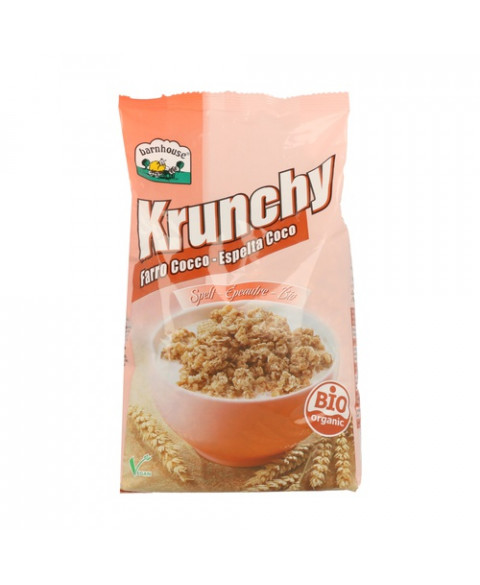 Krunchy espelta coco Barnhouse 600 gr Bio