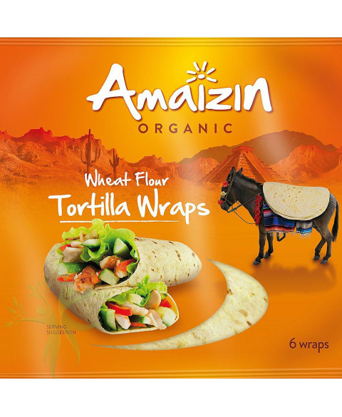 Tortilla de Trigo de Amaizin 240 Gr Bio