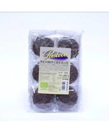 POLVORONES CHOCOLATE PASTECO 350GR BIO